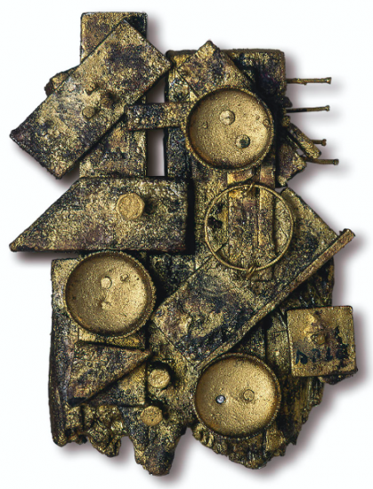 Juan Del Prete. Relieve, 1964. 