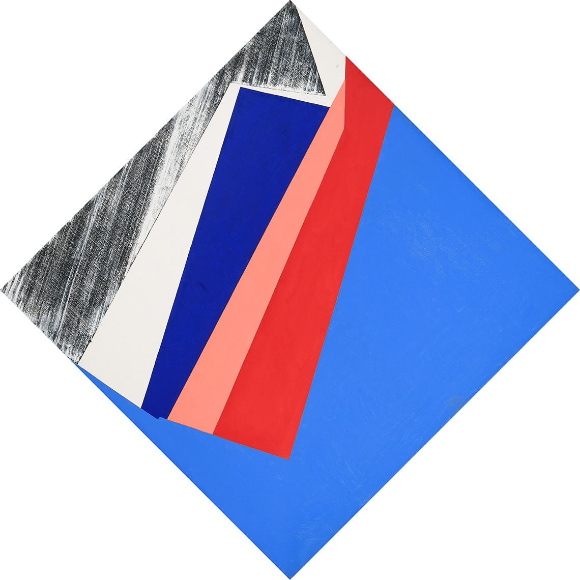 SIN TITULO. 1966. Oleo sobre tela. 170 x 170 cm