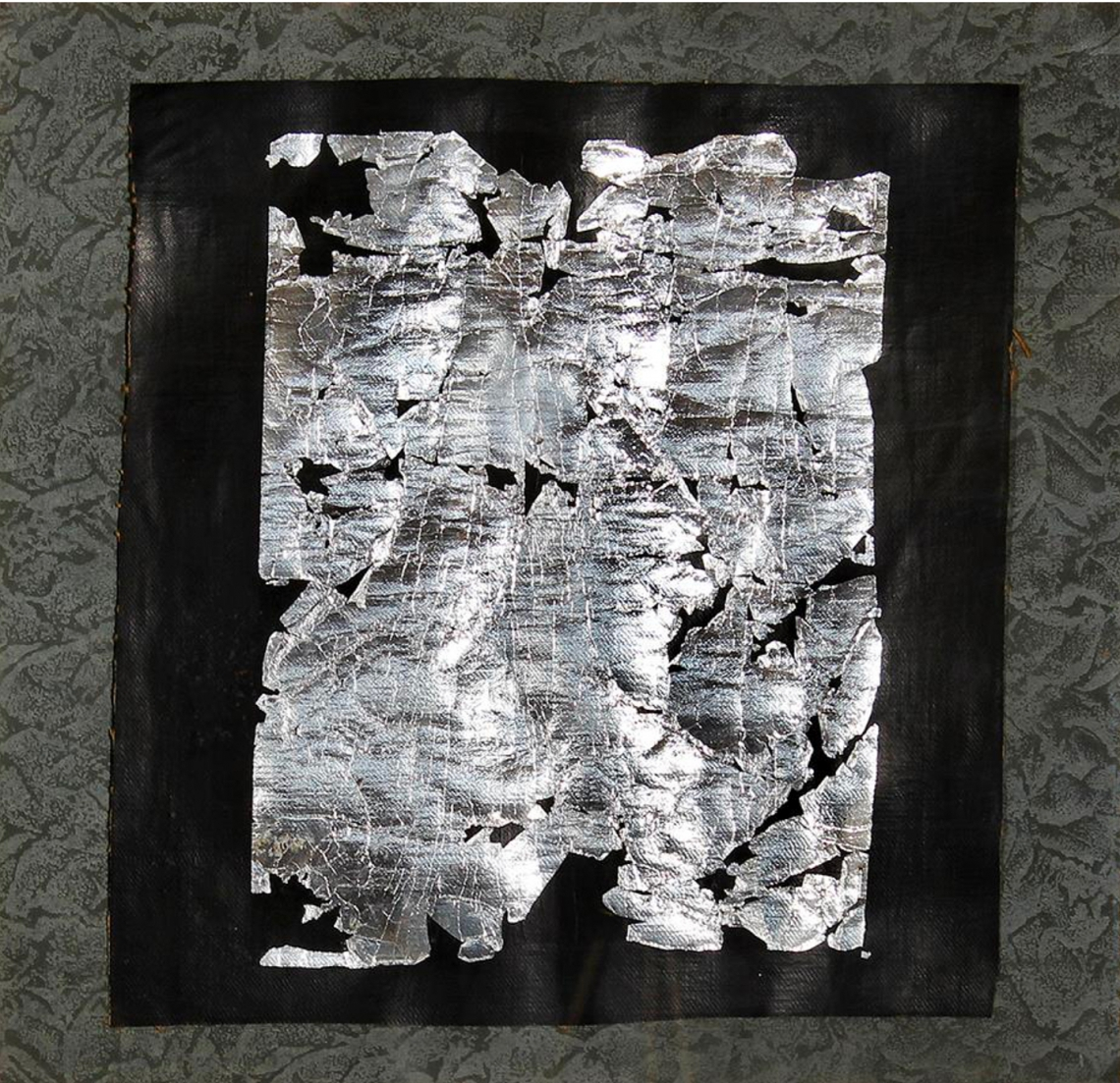 Kenneth Kemble. Sin título, 1982. Técnica mixta. 23 x 44 cm.