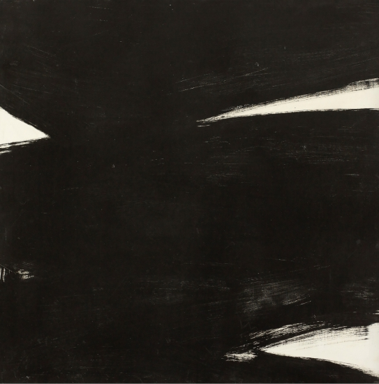 Kenneth Kemble. Untitled, 1960. Oil on canvas. 120 x 120 cm.